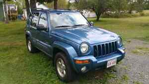 2004 Jeep Liberty for parts or repair