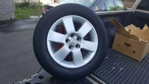 4 Mag Toyota Corolla-Matrix avec pneu d'ete Michelin 195 65R 15