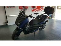 Yamaha X-Max 125 only 4 miles top box fitted 2020