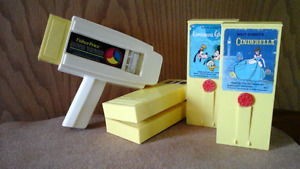 Vintage Fisher Price Movie Viewer & Collection