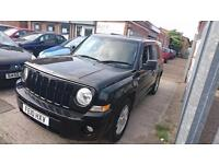 2010 / 10 Jeep Patriot 2.4 Sport Plus Station Wagon 4x4 5 Door Full MOT+Warranty