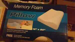 Memory Foam Pillow (NEW)