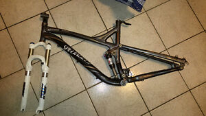specialized stumpjumper elite m5 full suspension frame w fox sus