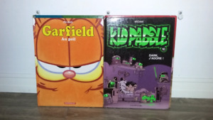Bd garfield et kid paddle