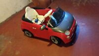 12v power wheels fiat 500 red car $150 obo with extra battery
