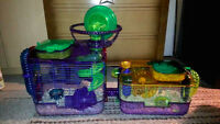 Hamster & Large Cage with all accessories
