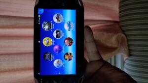 Hacked PS Vita with 32 gb card