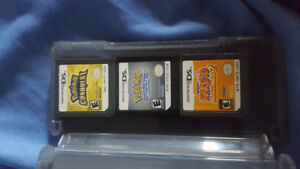 3 Authentic Nintendo DS Games    Including Pokémon Soul Silver