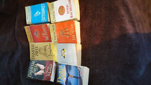 Large Variety of Danielle Steel books