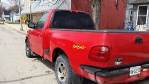 2001 FORD  F-150  STEP SIDE PICK UP