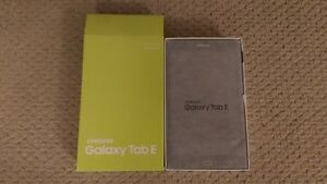 "Samsung Galaxy Tab E 8"" 16GB Android 6.0 LTE Tablet Black"