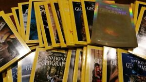 40 Years if Nationat Geographic Magazines