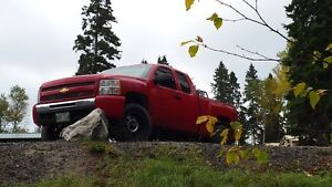 2010 Chevy 4x4 Z71 Lifted