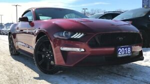 2018 Ford Mustang GT PREMIUM 5.0L V8 LEATHER NAVIGATION HEATED/.