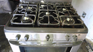 ( PENDING)    -   5 Burner Gas Stove stainless steel