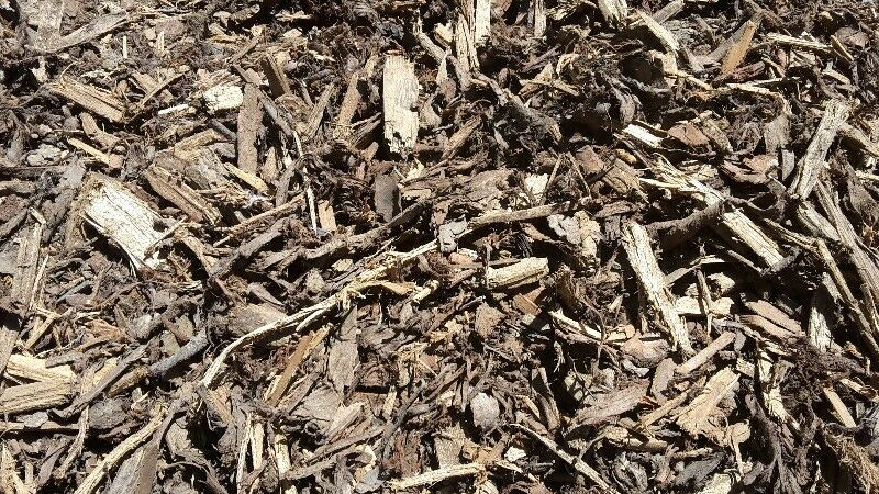 Mulch in bags and delivered in bulk
