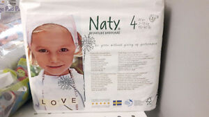 NEW Naty by nature babycare size 4 diapers