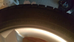 Winter TIres set of 4 - With RIMS for Audi A4