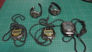 3 Stop Watches & 2 IronMan Watches London Ontario image 1