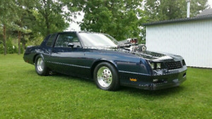 84 Monte Carlo show car rolling chassis