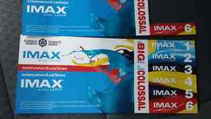 7 iMax Tickets