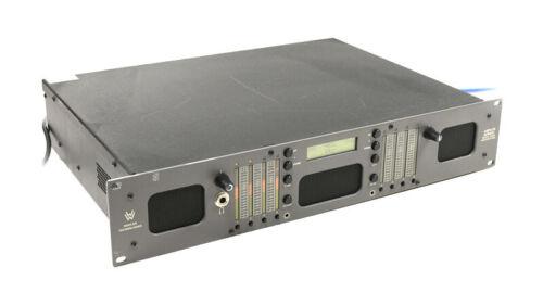 Wohler AMP2-S8 DA AES EBU Digital / Analog Audio Speaker Monitor 8 CH LED Meter