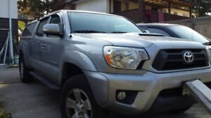 2014 Toyota Tacoma Pickup Truck Double Cab with Canopy