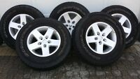 Jeep Wrangler (09) Rims and Tires (Factory)
