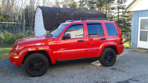 2002 Jeep Liberty Ltd