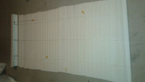 White Faux Wood Blind