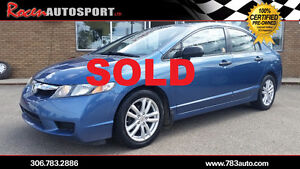 SOLD!!! CERTIFIED 2010 CIVIC DX-G - LOADED - REMOTE START