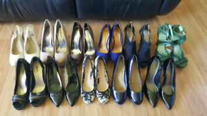 Women's shoes. Size 9, 9.5 and 10 heels