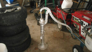 Old Fashioned CAST IRON Hand Operated deep well pump