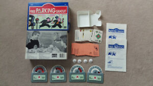 MINT VINTAGE Kenner Parker Brothers Monopoly Free Parking Game