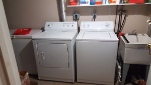 Kenmore washer and dryer -sold