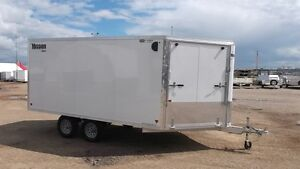 """2016 Mission Trailers 101""""X18' MES SNOW CARGO"""