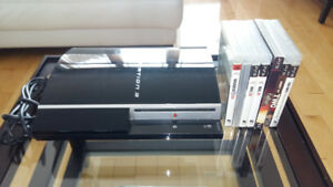 Sony Playstation3 with 7 games/ avec jeux