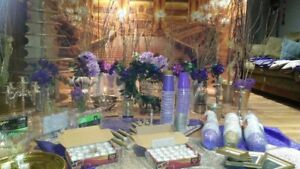 Gold and Purple Wedding Decorationd