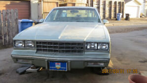 1986 Chevrolet Monte Carlo Sporty Coupe (2 door)