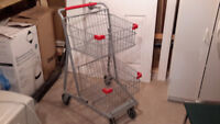 EXPRESS CARTS  DOUBLE BASKET