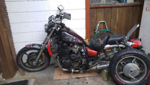 EVERYTHING GARAGE SALE---EVEN A MOTORCYCLE!!!