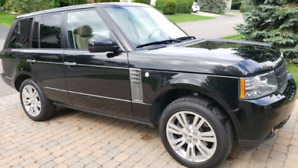 Range Rover HSE 2011 Noir, excellente condition