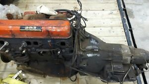 Vintage 1964 Chev 283 and Powerglide Transmission