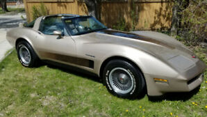 1982 C3 stingray collector edition Corvette