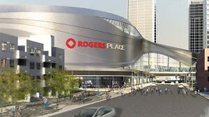 $5 off discount for anytime parking around Rogers Place