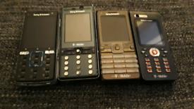 Sony Ericsson phones £20 each