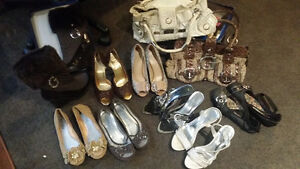 Guess bags and shoes