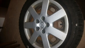 5 bolt winter tires and rims