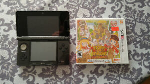 Nintendo 3ds + story of the seasons trio of towns
