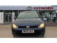 2013 Volkswagen Golf 1.4 TSI SE 5dr DSG Petrol Hatchback Auto Hatchback Petrol A